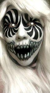 Scary Girl Halloween Makeup Ideas