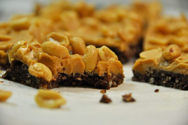 Chocolate and peanut butter, the perfect combination.