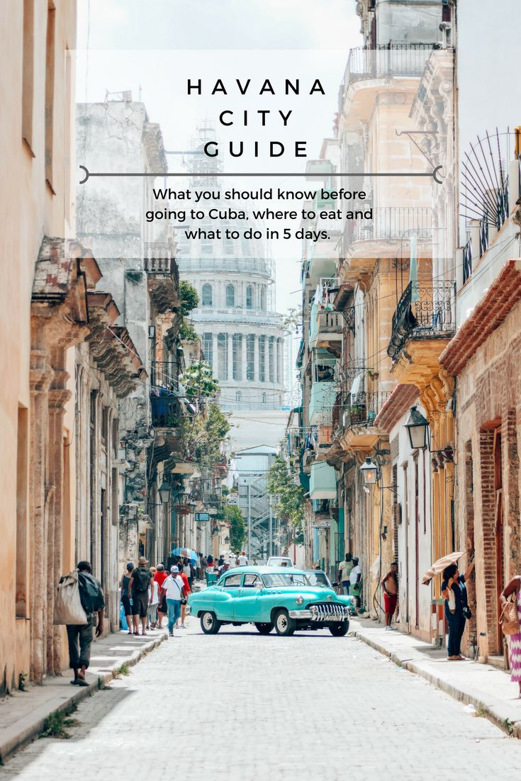 Planning a trip to Cuba? Check out my Havana city guide which will tell you everything you need to know and includes all my favourite hotspots!