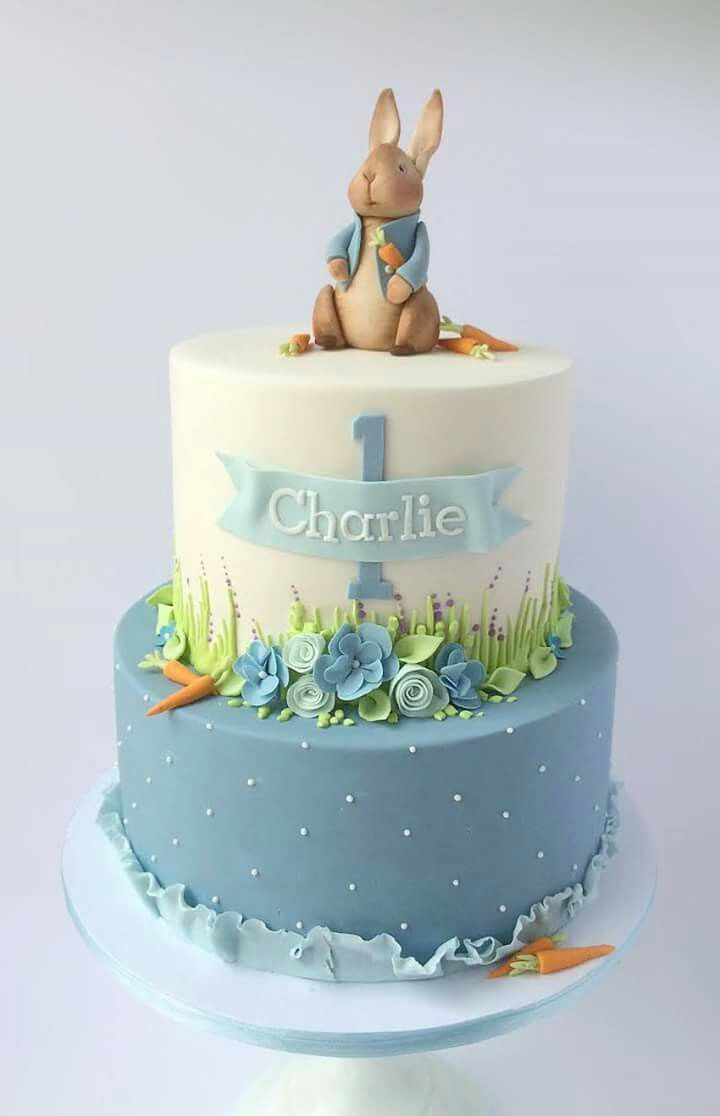 34 Brilliant Picture Of Bunny Birthday Cake With Images Bunny
