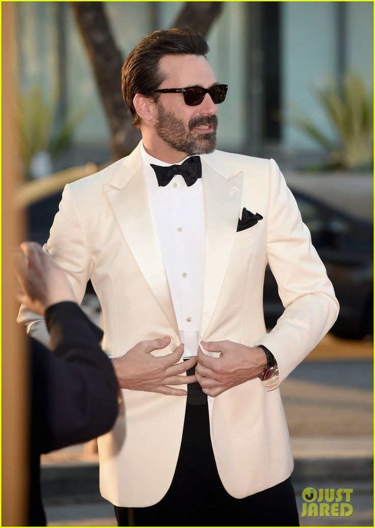 Jon Hamm AMC Celebration of Mad Men Black and Red Ball 2015