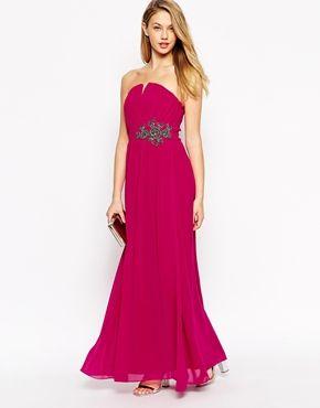 James bond style maxi dress