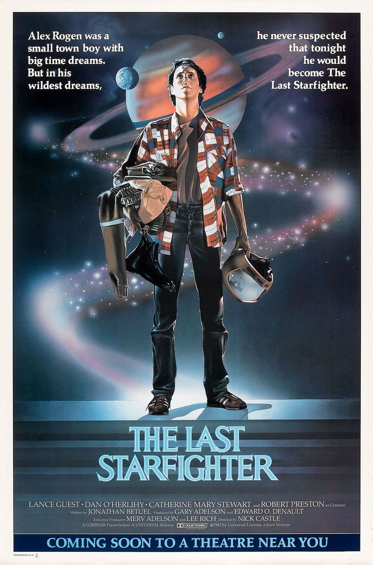 Film Poster of The Last Starfighter