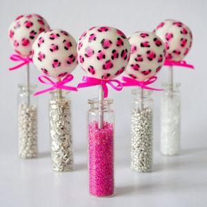 Pink   KC Bakes #Cakepops