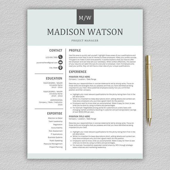 Best 25+ Creative cv template ideas on Pinterest Creative cv - creative resume template