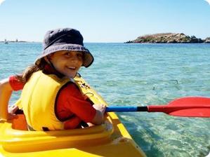 Blue Cruise activities: Enjoy seakayaks during your luxury gulet cruise