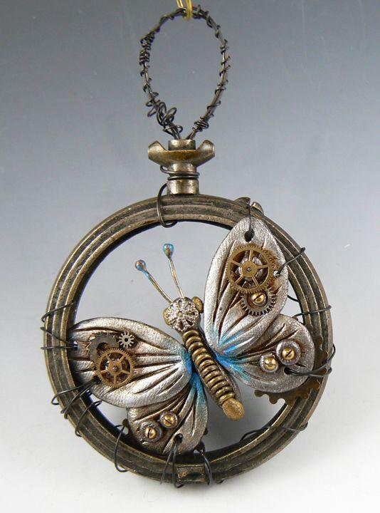 captured steampunk butterfly - Christie Friesen
