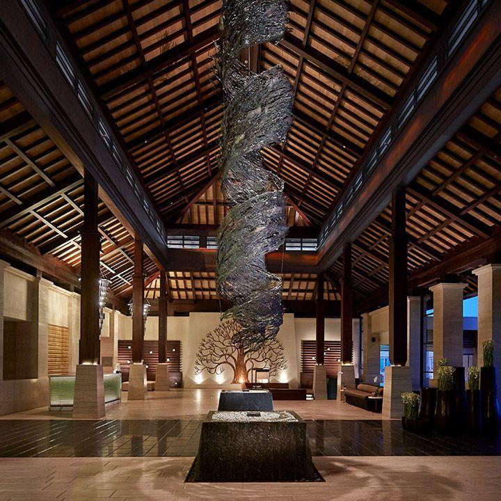San Francisco Map Ritz Carlton%0A Lobby View  The RitzCarlton  Bali vossy com
