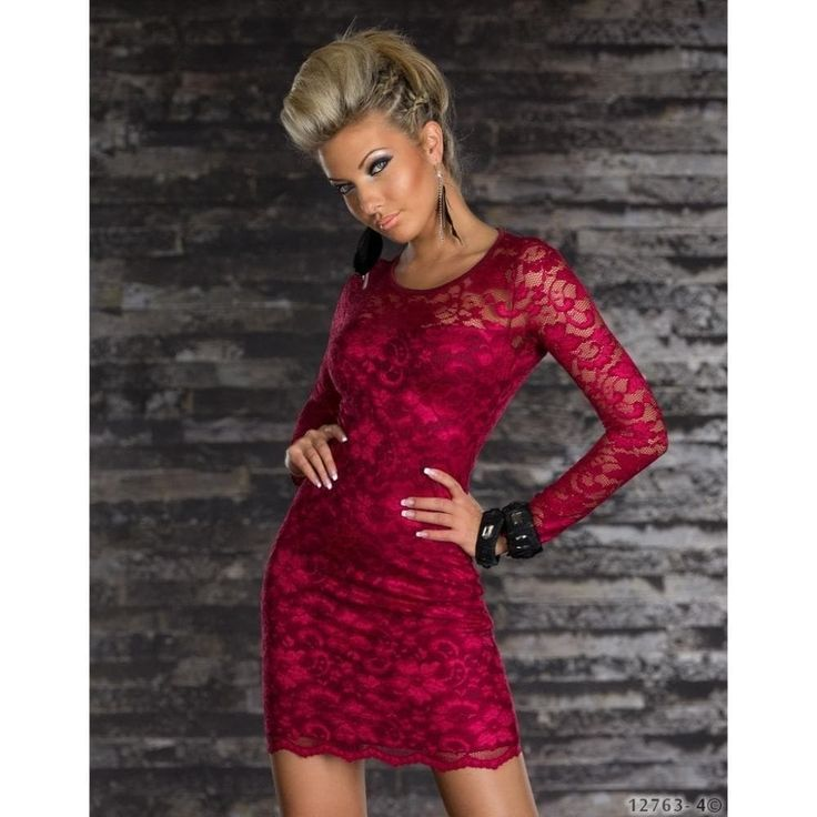vestido-de-manga-longa-de-renda-vermelho-2