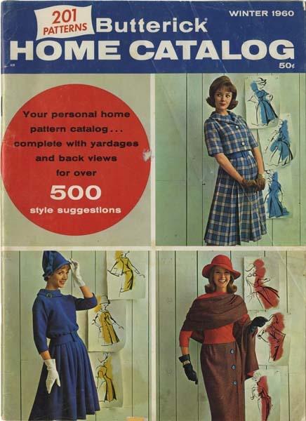 Butterick Catalog - Winter 1960 | My Vintage Butterick ...
