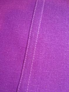 Tutorial for the following seams: French, Pinked, Felled, and Hong Kong Finish