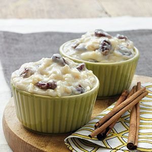 White Chocolate-Cherry Rice Pudding | Recipe | White Rice, Rice ...