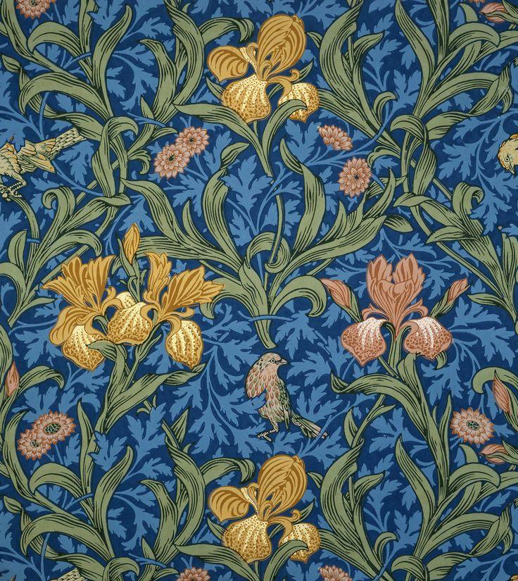 Wallpaper design by William Morris (British, 1834-1896) | VA Museum, London