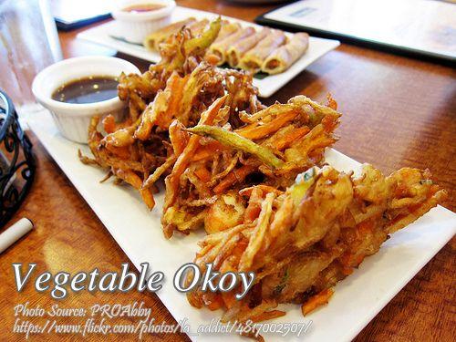 Vegetable Okoy | Filipino Vegetarian Recipes