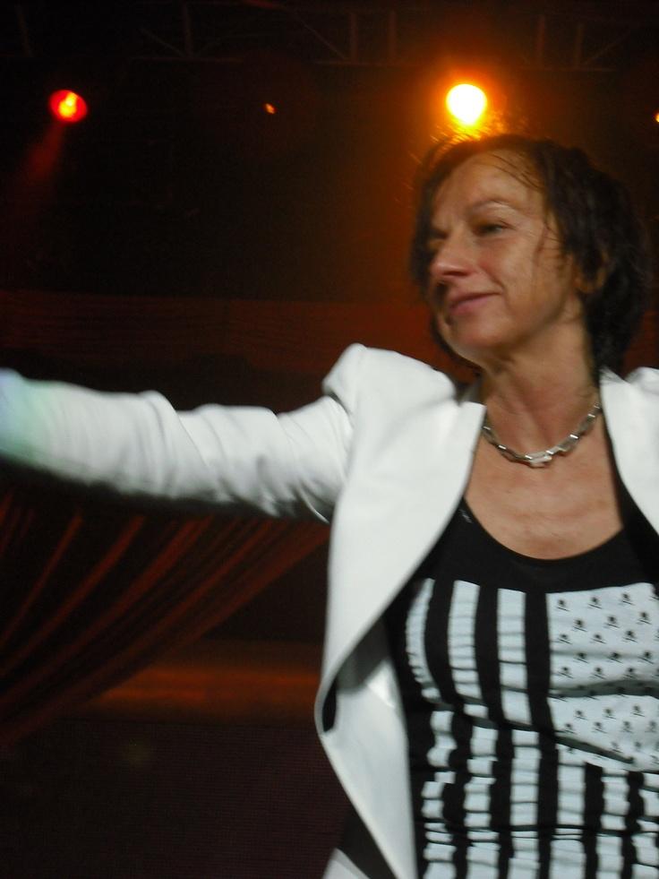 Gianna Nannini @Moanie Louw Oosthuizen e te tour!