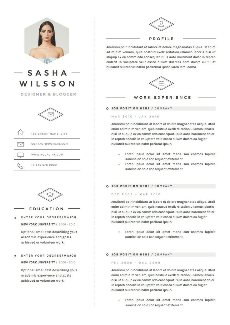 358 best images about curriculum vitae on pinterest