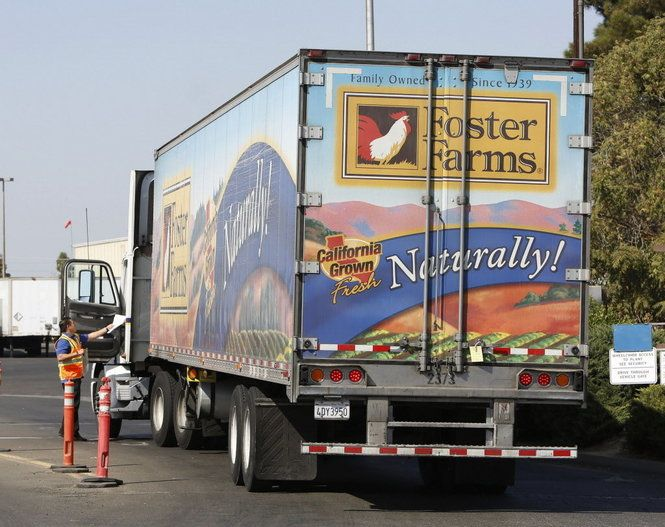 California Costco store recalls Foster Farms chicken after cooked bird tests positive for Salmonella http://www.oregonlive.com/health/index.ssf/2013/10/post_75.html