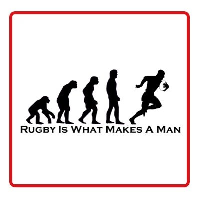 The #Evolution of a #RugbyFan :)