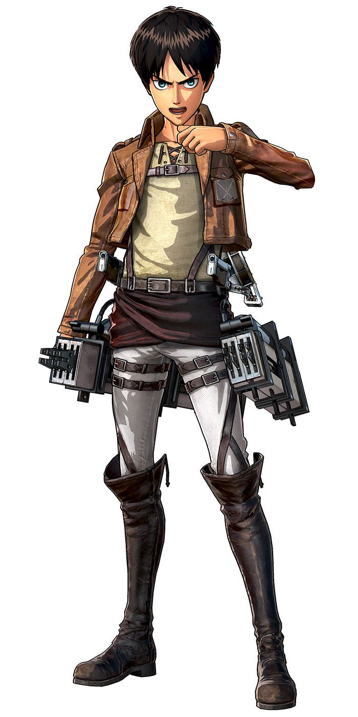 [Attack on Titan: Wings of Freedom] Eren Yeager ...