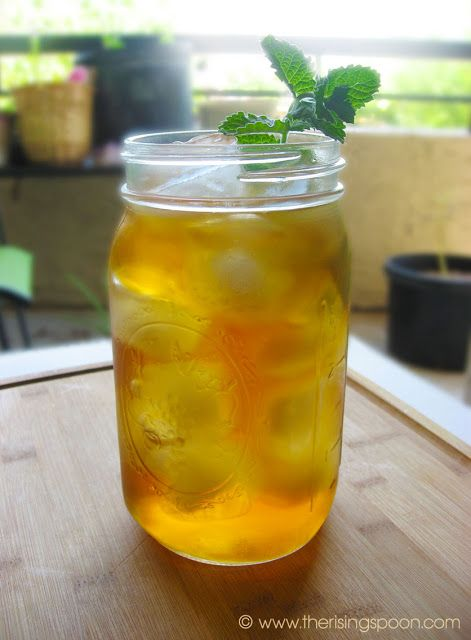 The Rising Spoon: How to Cold Brew Tea: The Best Method for Making Iced Tea