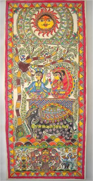 Indian Folk art-Madhubani painting