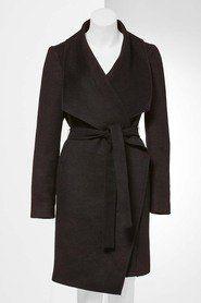 Simply Vera Vera Wang Shawl Collar Wrap Coat