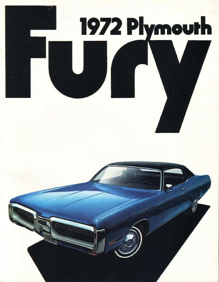Plymouth Fury - 1972 The Old Car Manual Project