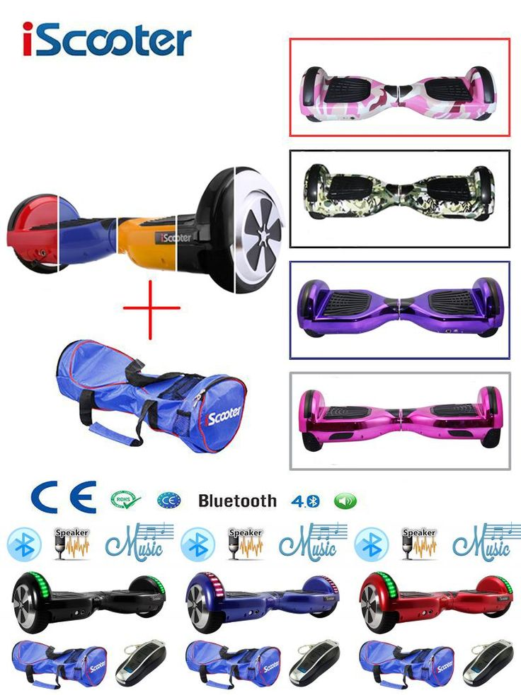 [Visit to Buy] Hoverboard Bluetooth Speaker Electric Giroskuter 2 Wheel self Balance Electric scooter unicycle Standing Smart two wheel scooter #Advertisement