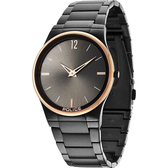 Police - Men's Horizon Black Watch - 12744JRSBR-61M Online price: £150.00 www.lingraywatches.co.uk
