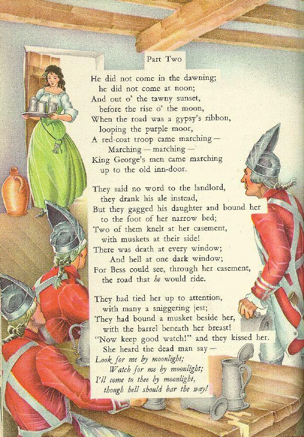 The Highwayman Alfred Noyes 1906 The Highwayman Poem