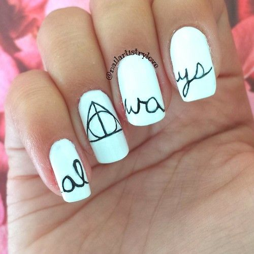25+ Best Ideas About Harry Potter Nails On Pinterest