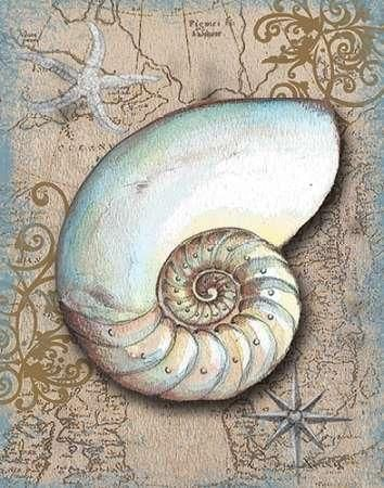 CUADROSTOCK.COM - Cuadro Nautical Treasures III / Donna Knold