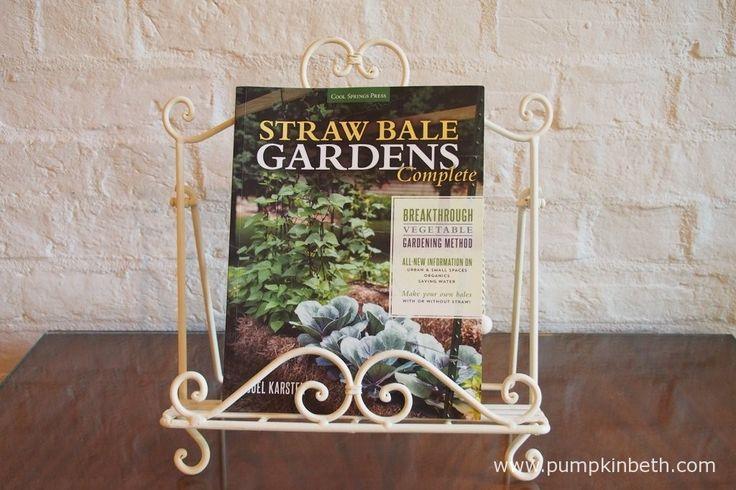 Read my review of Straw Bale Gardens Complete by Joel Karsten at www.pumpkinbeth.com