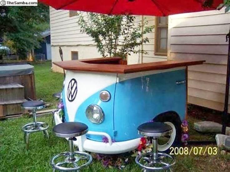 VW Van chiosco