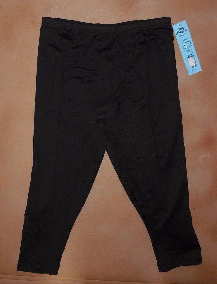 $20--2 pr avail--GA--NWT Body Wrappers Black Mens Danseur pants M195 Praise Ballet Nylon Lycra CAPRI #BodyWrappers