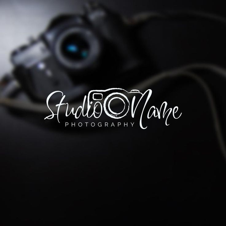 Instant logo design photography logo and watermark camera
