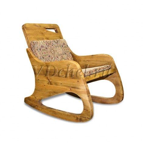 Кресло-качалка с мягким элементом