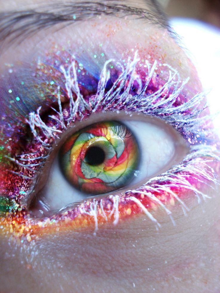 rainbow eye   Photography   Pinterest