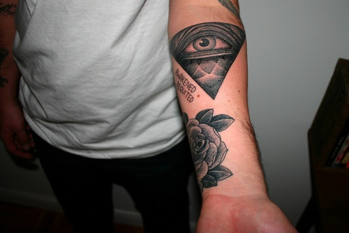 Eye In A Rose Tattoo: 20 Best Images About Eye Of Providence On Pinterest