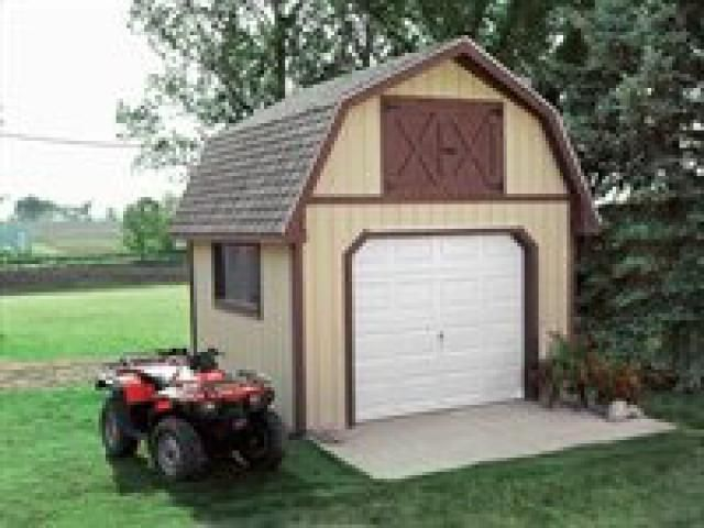 Build A New Storage Shed With One Of These 25 Free Plans Gambrel Garage Shed Plan 12x12 My