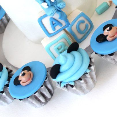 Baby Mickey Mouse Cake Cupcakes & Cake pops