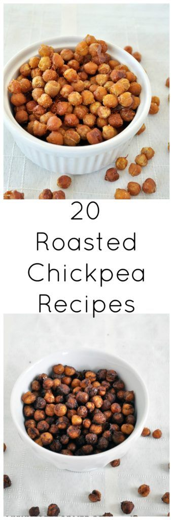 20 Healthy and Easy Roasted Chickpea recipes to satisfy any craving!  Vegan and gluten free.