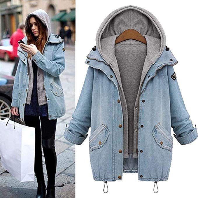 Damen Jacke & Damen Mantel 2018 – 2019 Winter | Denim coat