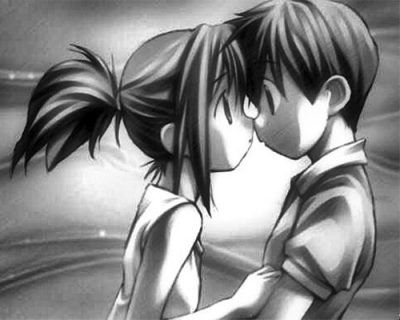 Animes De Amor Para Dibujar Miradas