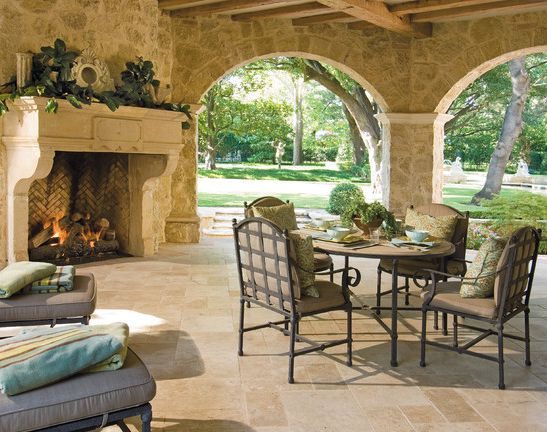 Country Kitchen Fireplaces Pictures