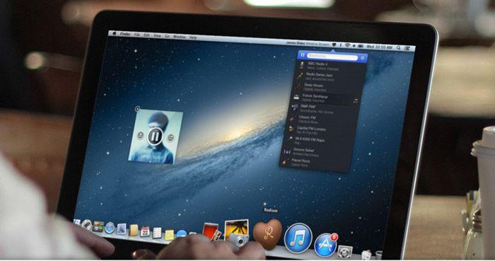 Radium 3, una gran aplicación para escuchar tus emisoras de radio en tu Mac