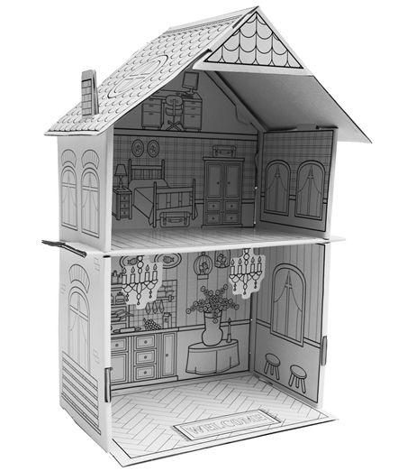 doe-het-zelf poppenhuis €1,50 hema