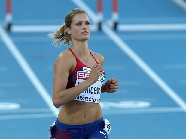 Christina Vukicevic (NOR) - corredora  Foto: Getty Images