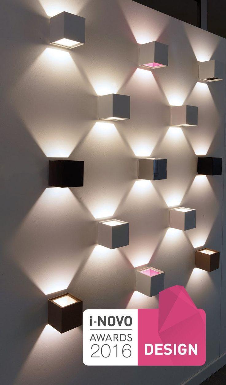 Contemporary wall light / square / aluminum / LED ALEA LED 456  Egoluce