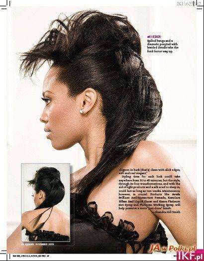 Hair Style Questions : ... _bce/irokez-damski_bgfdb.html Her Hair Style - Punk Pinterest